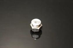 "Squeeg's Aluminum 1/4"" ID Ferrule with Nut (SQU-FWN-25)"
