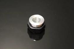 "Squeeg's Aluminum 1/2"" ID Ferrule with Nut (SQU-FWN-50)"