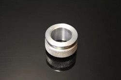 "Squeeg's Aluminum 3/4"" ID Ferrule with Nut (SQU-FWN-75)"
