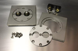 Squeeg's Round Weld in Frame Bulkhead with Terminals (SQU-BHRP-T)