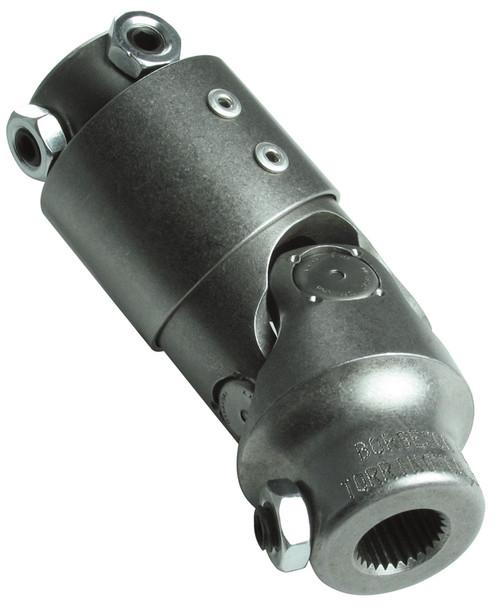 Borgeson 3/4 DD X 1 DD Vibration Steering U-Joint, Steel