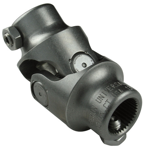 Borgeson 1 DD X 3/4 DD Steering U-Joint, Stainless Steel