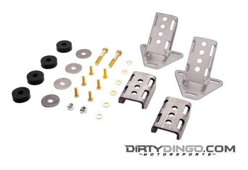 Dirty Dingo GM 3 Bolt Street Rod Engine Mounts, Steel (DDI-DD-SR-GM-CM)