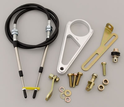 "Lokar 2 1/4"" Steering Column Cable Shift Linkage Kit"