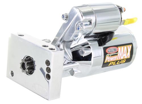 Powermaster PowerMAX PLUS GM Universal SBC/BBC Mini Starter, Chrome