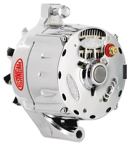 powermaster ford 1 wire 150 amp upgrade alternator, chrome  ford powermaster alternators wiring #1