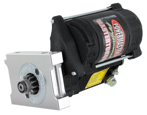 Powermaster MasterTorque GM Universal SBC/BBC Mini Starter, Black