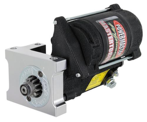 Powermaster MasterTorque SBC/BBC Staggered Mount Mini Starter, Black