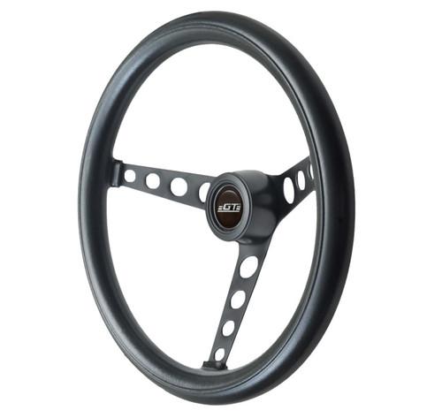GT Performance GT3 Classic Hole Spokes Foam Wheel, Black
