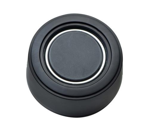GT Performance GT3 Hi-Rise Plain Horn Button, Black Anodized