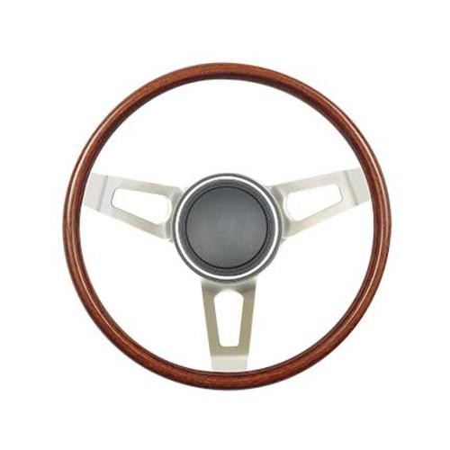 GT Performance GT3 Retro Tuff Design Wood Wheel, Wood