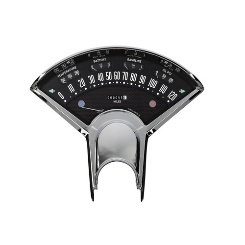 Classic Instruments Bel Era III Series Instrument Package, Black