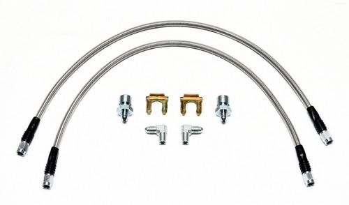Wilwood Stainless Steel Braided Brake Line Kit