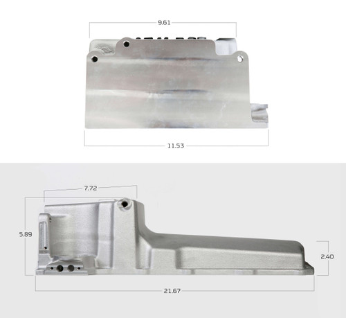 Holley GM LS Retro-Fit Engine Oil Pan