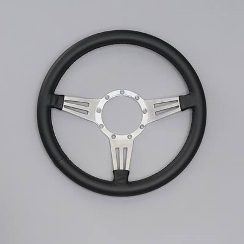 Lecarra Mark 4 Double Slot Steering Wheel, Black