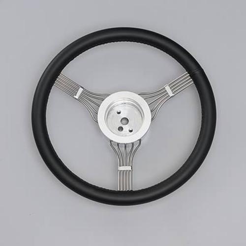 Lecarra Newstalgic Banjo Steering Wheel, Black