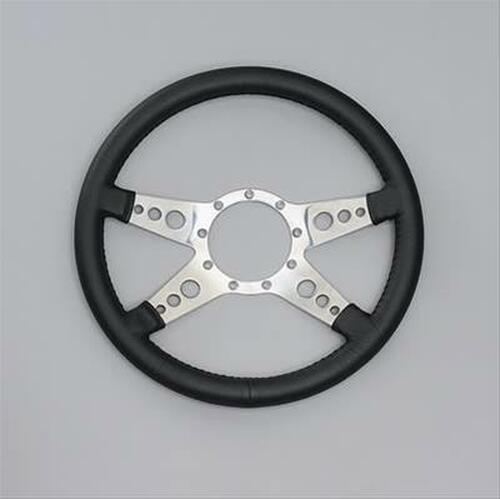 Lecarra Mark 9 GT Steering Wheel, Black