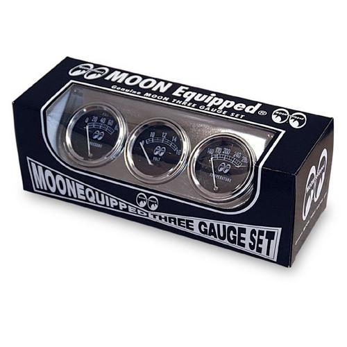 Mooneyes Equipped 3 Gauge Set