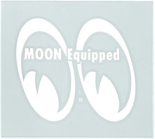 Mooneyes Equipped Eyes Die Cut Decal, Left
