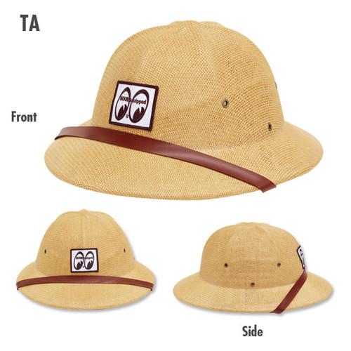 Mooneyes Equipped Safari Hat, Tan