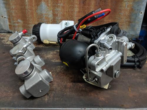 ABS Power Brake High Power Electric Master Cylinder Kit - Frame Mount