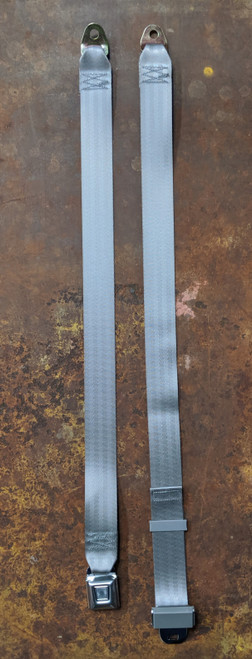 "Seatbelt Solutions 74"" Lap Belt w/ Starburst Push Button"