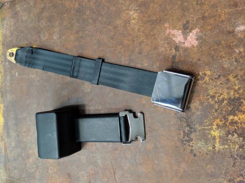 Seatbelt Solutions 2-Point Retractable Lap Belt w/ Lift Latch