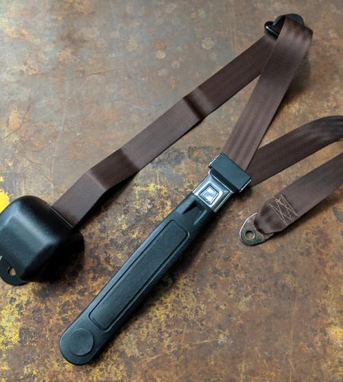 Seatbelt Solutions 3-Point Retractable Lap & Shoulder Belt w/ Starburst Push Button & Sleeve