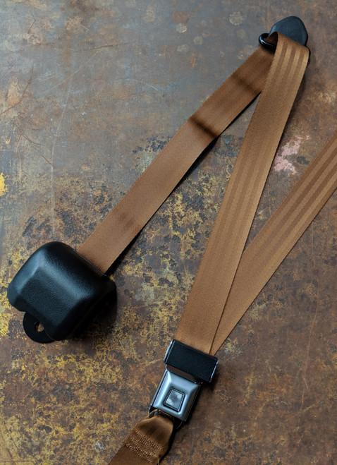 Seatbelt Solutions 3-Point Retractable Lap & Shoulder Belt w/ Starburst Push Button