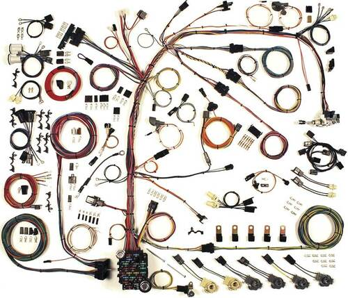 American Autowire 1978-1980 Chevrolet Camaro Classic Update Complete Wiring Kit (AME-510581)