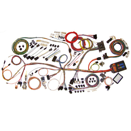 "American Autowire 1962-1967 Chevrolet Nova ""Classic Update"" Complete Wiring Kit (AME-510140)"