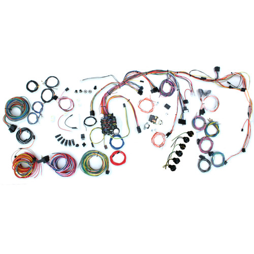 """American Autowire 1969-1972 Chevrolet Nova """"Classic Update"""" Complete Wiring Kit (AME-500878)"""