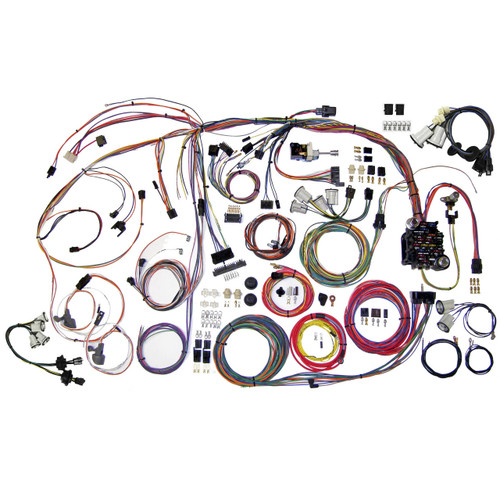 """American Autowire 1970-1972 Chevrolet Monte Carlo """"Classic Update"""" Complete Wiring Kit (AME-510336)"""