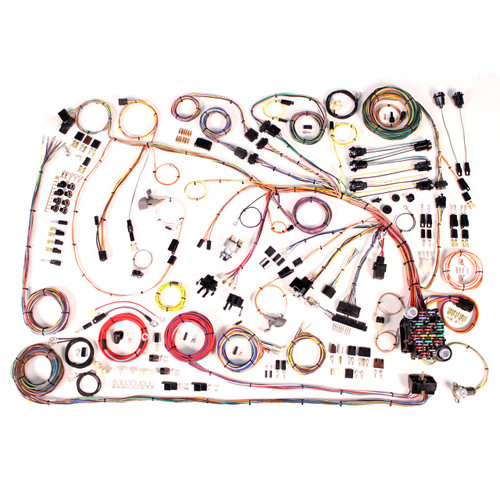 """American Autowire 1966-1968 Chevrolet Impala """"Classic Update"""" Complete Wiring Kit (AME-510372)"""