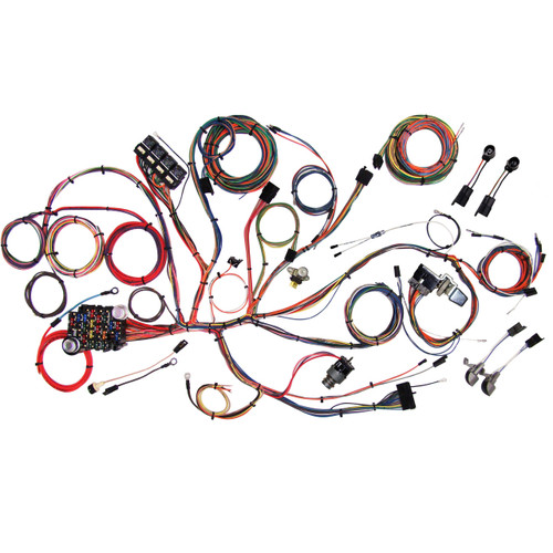 """American Autowire 1964-1966 Ford Mustang """"Classic Update"""" Complete Wiring Kit (AME-510125)"""