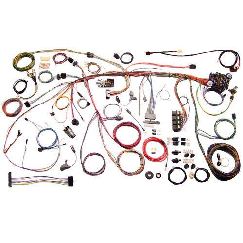 """American Autowire 1970 Ford Mustang """"Classic Update"""" Complete Wiring Kit (AME-510243)"""