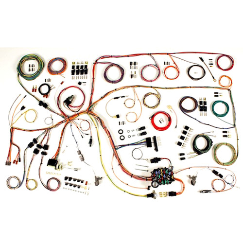 """American Autowire 1960-1964 Ford Falcon & 1960-1965 Mercury Comet """"Classic Update"""" Complete Wiring Kit (AME-510379)"""