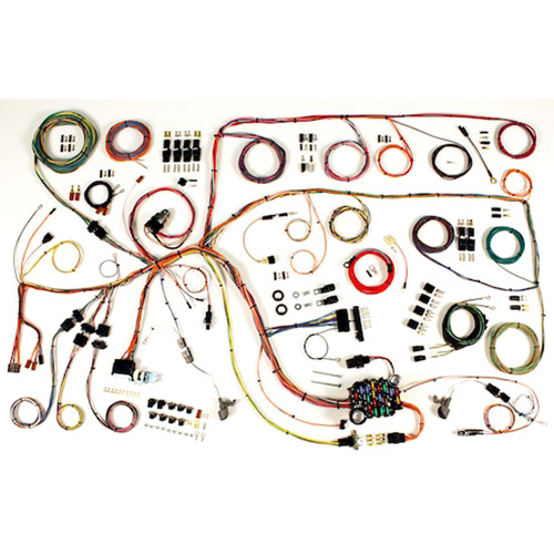 """American Autowire 1965 Ford Falcon """"Classic Update"""" Complete Wiring Kit (AME-510386)"""
