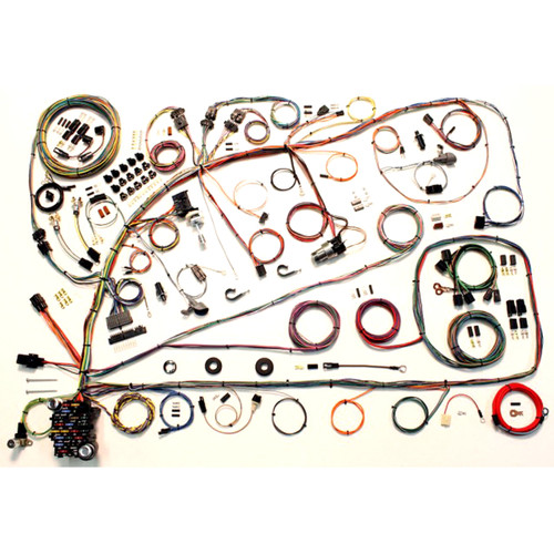 """American Autowire 1966-1967 Ford Fairlane """"Classic Update"""" Complete Wiring Kit (AME-510391)"""