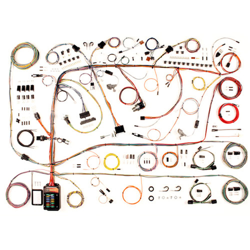 """1960-1964 Ford Galaxie & Mercury Fullsize """"Classic Update"""" Complete Wiring Kit (AME-510591)"""