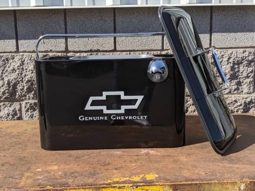 Vintage Chevrolet Beverage Cooler, Black