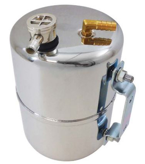 RPC Steel Vacuum System Reservoir Tank, Chrome