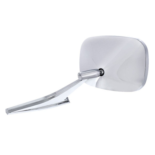 United Pacific Rectangular Exterior Mirror w/LED Turn Signal For 1968-72 Chevy Passenger Car - L/H