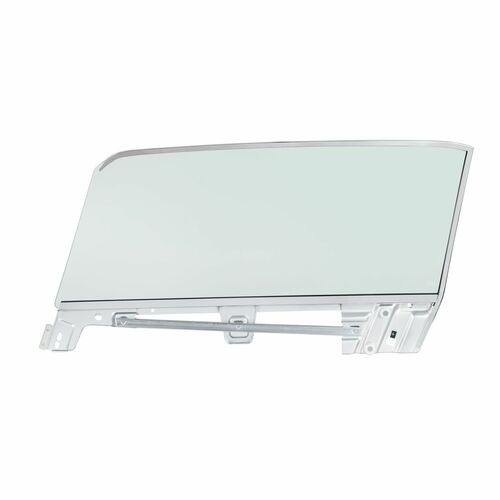 United Pacific Complete Tinted Door Glass Assembly For 1967-68 Mustang Convertible - R/H