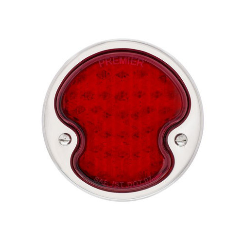 United Pacific LED Sequential Tail Light w/Stainless Steel Housing For 1932 Ford Car & Truck - L/H