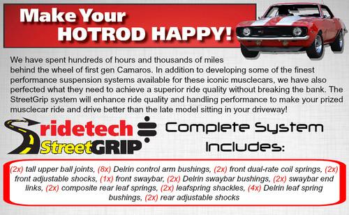 "Ridetech StreetGrip Suspension System for 1970-1981 GM ""F"" Body (RID-11175010)"