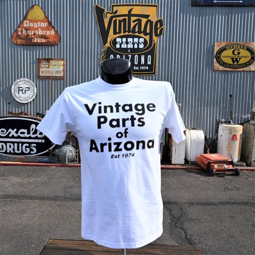 Vintage Parts of Arizona Classic Tee White