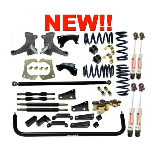 Ridetech StreetGrip Suspension System for 1963-1972 Chevy C-10 (RID-11355010)