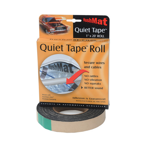 HushMat Quiet Tape 1 In x 20 Ft Roll (HUS-30300)