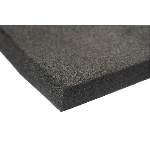 "HushMat 11.5 Sq Ft Silencer Megabond 1/2"" Sound & Thermal Insulating Foam (HUS-20300)"